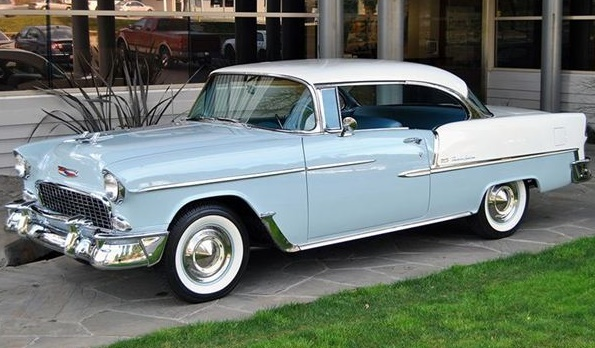 Chevrolet bel air sport coupe 1955 prisadbil - 1955 chevrolet belair sport coupe ...