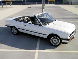 bmw cabrio E30